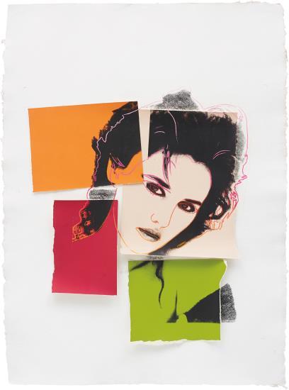 Andy Warhol-Isabelle Adjani-1986