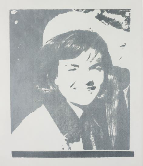 Andy Warhol-Jacqueline Kennedy I (Jackie I), from 11 Pop Artists I-1966