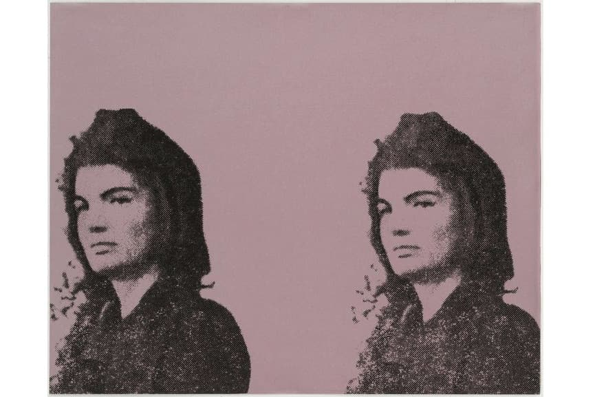 Andy Warhol - Jacqueline Kennedy II from 11 Pop Artists