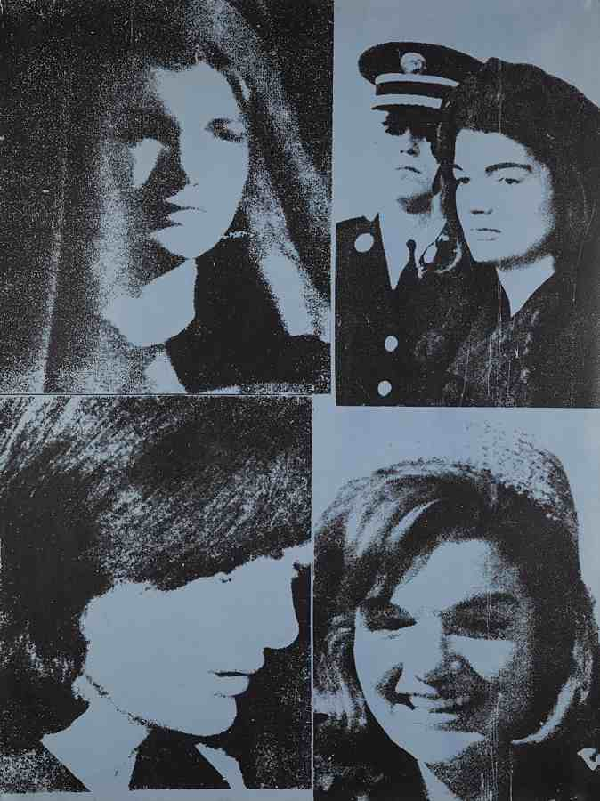Andy Warhol-Jacqueline Kennedy III (Jackie III), from 11 Pop Artists, Volume III-1966