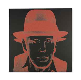 Andy Warhol-Joseph Beuys (Diamond Dust)-1980