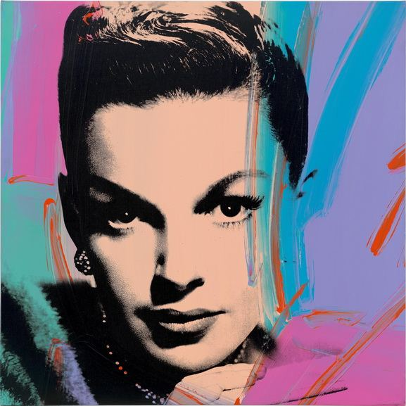 Andy Warhol - Judy Garland (Multicolor)