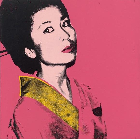 Andy Warhol - Kimiko Powers