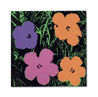 Andy Warhol-Late Four-Foot Flowers-1967