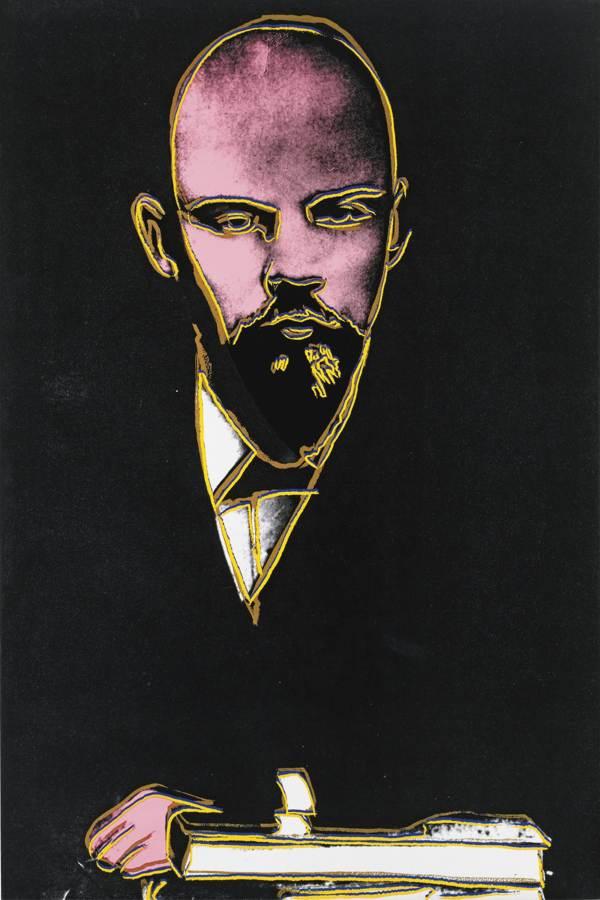 Andy Warhol-Lenin-1986