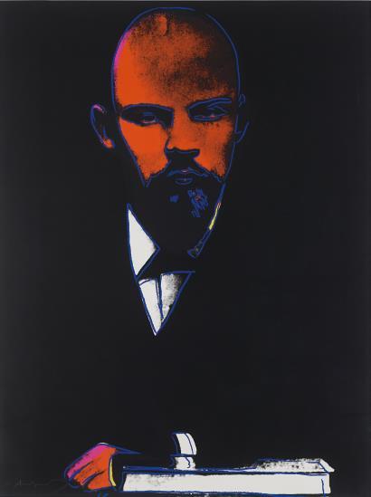 Andy Warhol-Black Lenin (F. & S. II.402)-1987