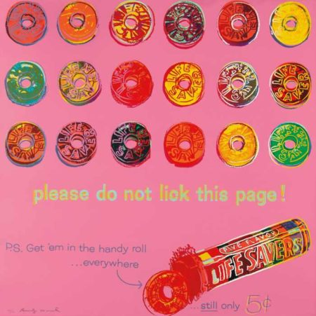 Andy Warhol-Life Savers, from Ads-1985