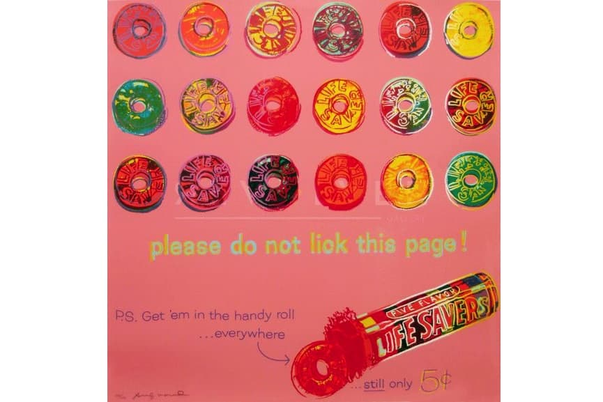 Warhol's Life Savers, 1985