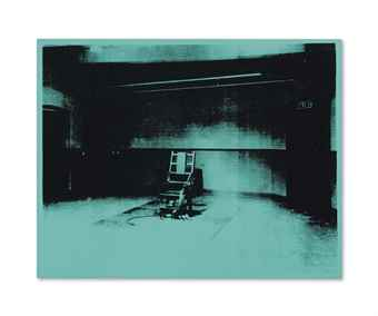 Andy Warhol-Little Electric Chair-1964