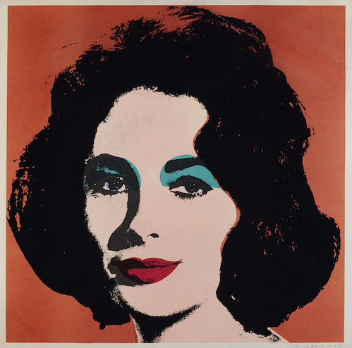 Andy Warhol-Liz-1965