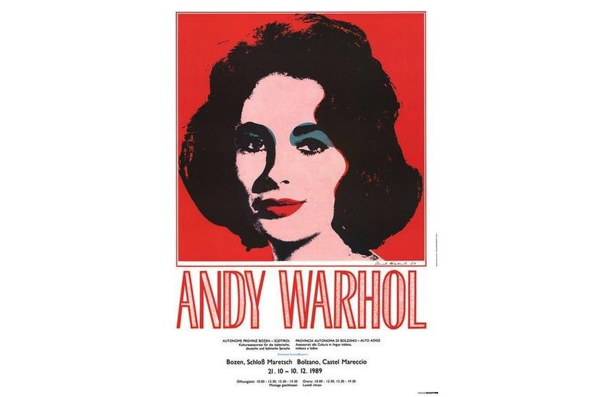 Andy Warhol - Liz Taylor, 1989