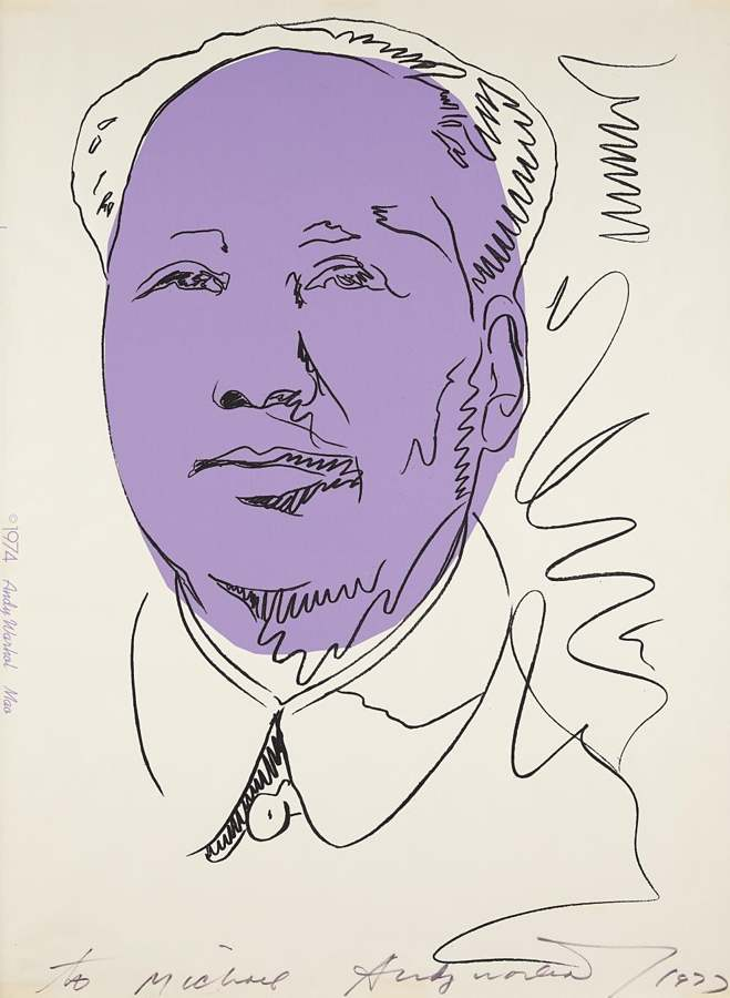 Andy Warhol-Mao-1974
