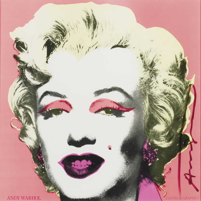 Andy Warhol-Marilyn (Announcement)-1981