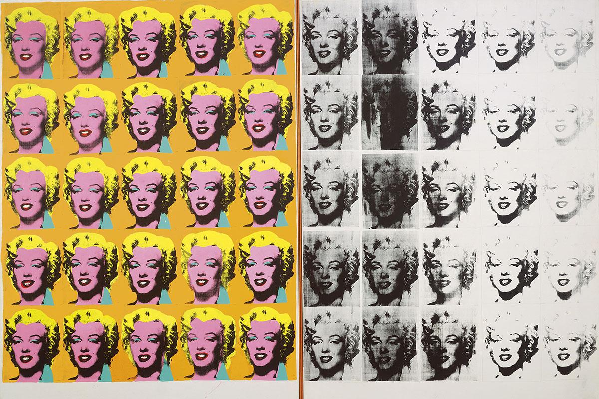 Andy Warhol -Marilyn Diptych, 1962
