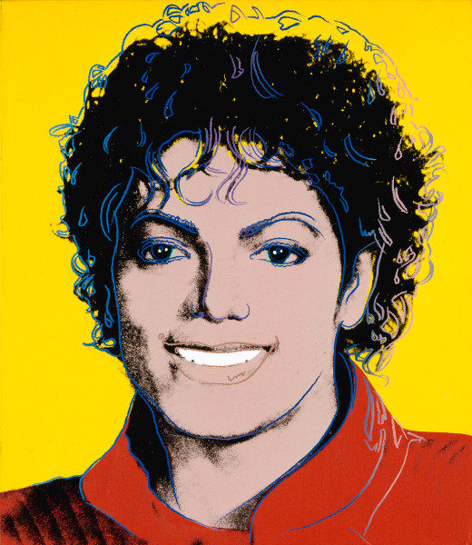 Andy Warhol - I Like Michael Jackson, 1984