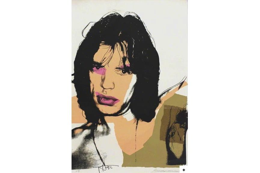 Andy Warhol - Mick Jagger (#11.141), 1977