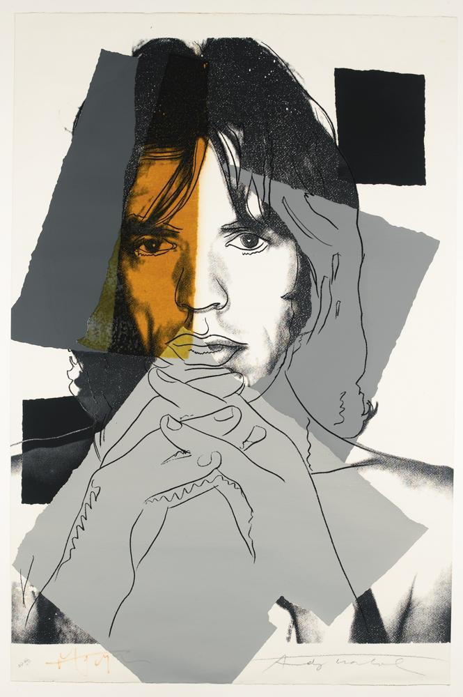 Andy Warhol-Mick Jagger (F. & S. II.147)-1975