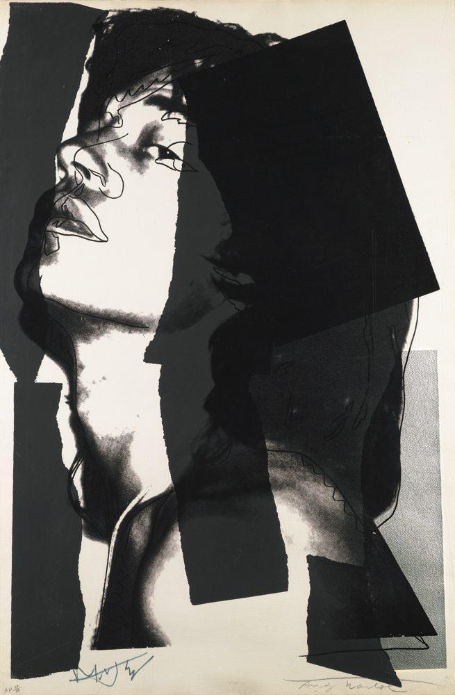 Andy Warhol-Mick Jagger (F. & S. II.144)-1975