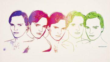 Andy Warhol - Miguel Bosé, 1983