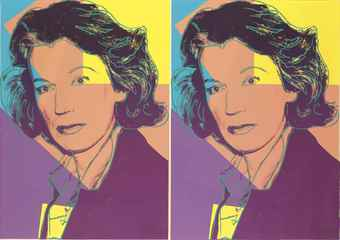 Andy Warhol-Mildred Scheel-1980