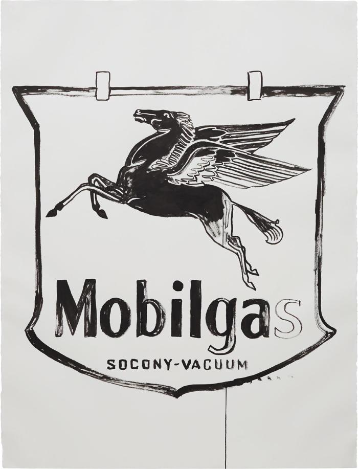 Andy Warhol-Mobilgas-1985