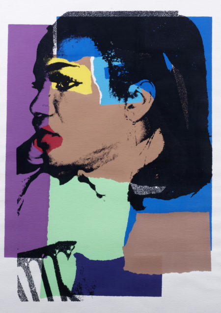 Andy Warhol-One Plate, from Ladies and Gentlemen-1975