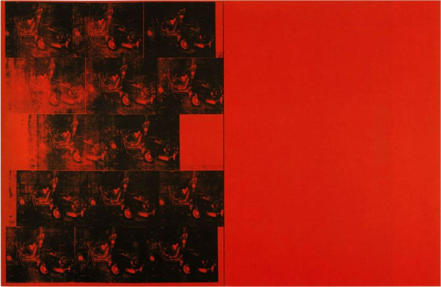 Andy Warhol - Orange Car Crash 14 times