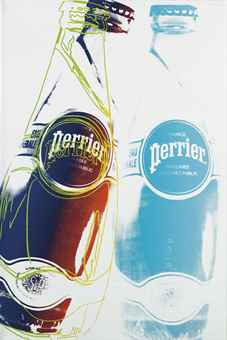 Andy Warhol-Perrier-1983
