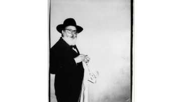 Andy Warhol - Photograph of Henry Geldzahler Lighting a Cigar