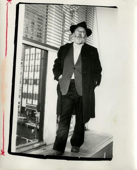 Andy Warhol - Photograph of Henry Geldzahler