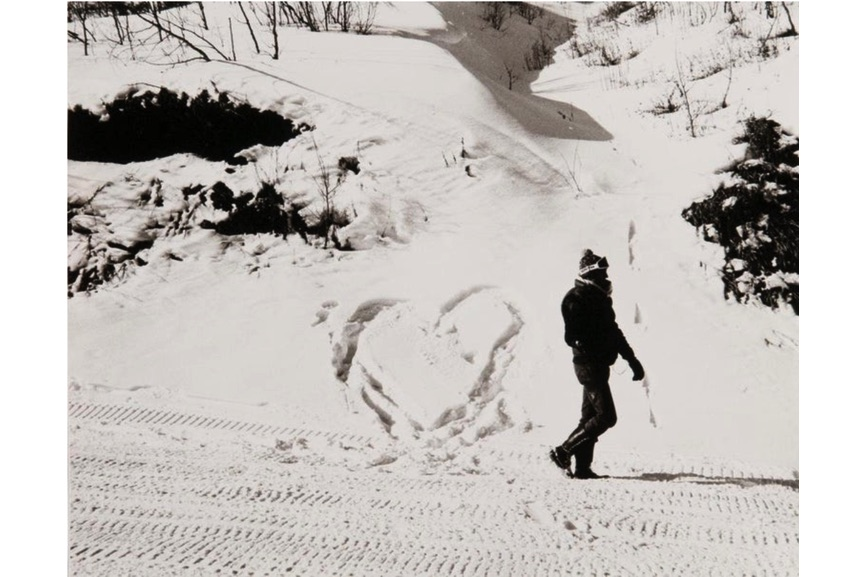 Andy Warhol - Photograph of Jon Gould in the Snow in Aspen, 1983