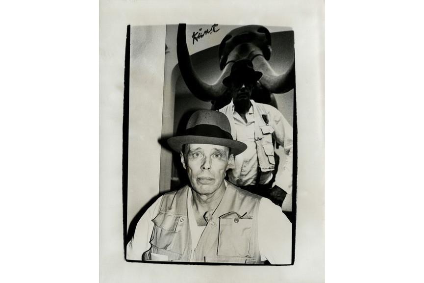 Andy Warhol - Photograph of Joseph Beuys