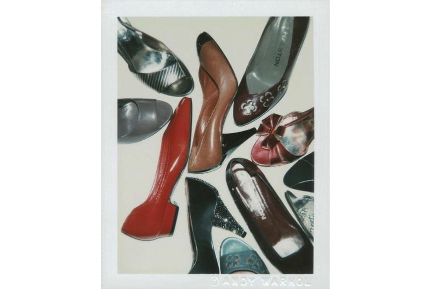 Andy Warhol - Polaroid Photograph of Shoes