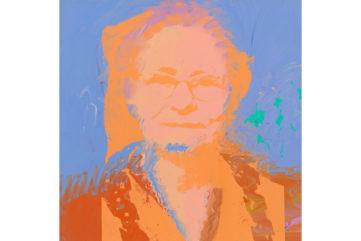 Andy Warhol - Portrait of Julia Warhola