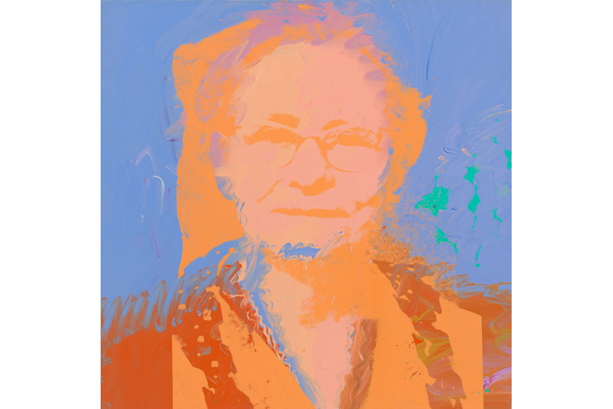 Andy Warhol - Portrait of Julia Warhola