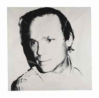 Andy Warhol-Portrait of Michael Heizer-1977