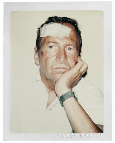Andy Warhol-Portrait of Robert Rauschenberg-1981