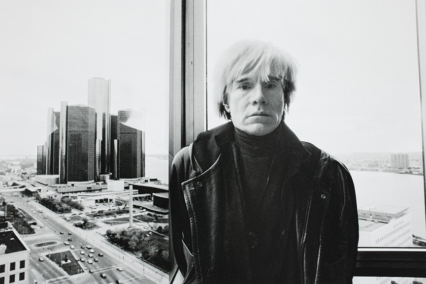 Andy Warhol Portrait. Photo via interestingfactsorg