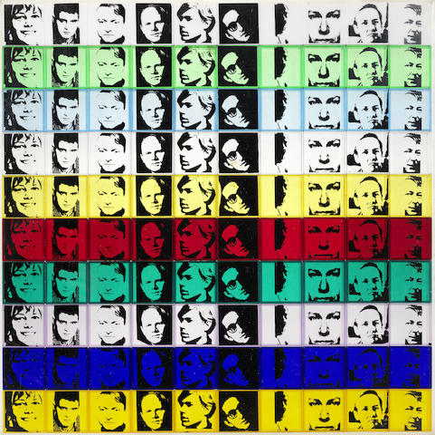 Andy Warhol-Portraits of the Artists, from Ten from Leo Castelli-1967