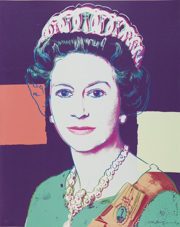 Andy Warhol-Queen Elizabeth II Of The United Kingdom-1985