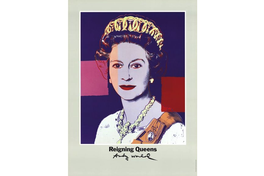 Andy Warhol - Queen Elizabeth II of England from Reigning Queens, 1996