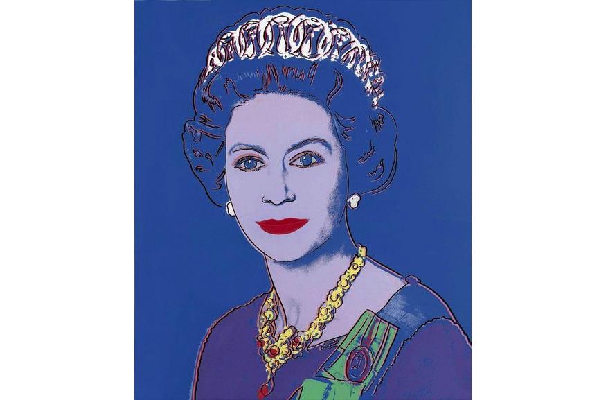 Andy Warhol, Queen Elizabeth II
