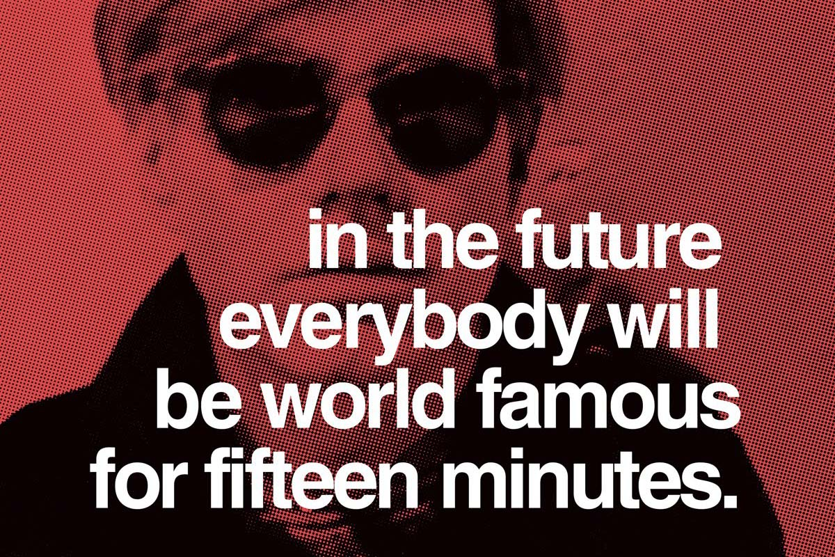 Andy Warhol Quotes Andy Warhol Quotes Which Predicted The Future  Widewalls