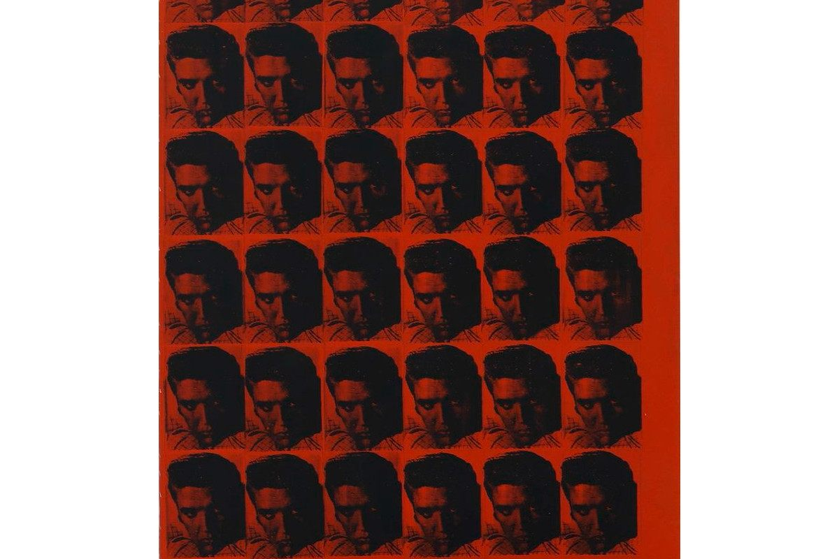 Andy Warhol - Red Elvis, 1962