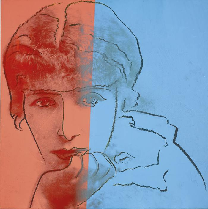 Andy Warhol-Sarah Bernhardt (From Ten Portraits Of Jews Of The Twentieth Century)-1980