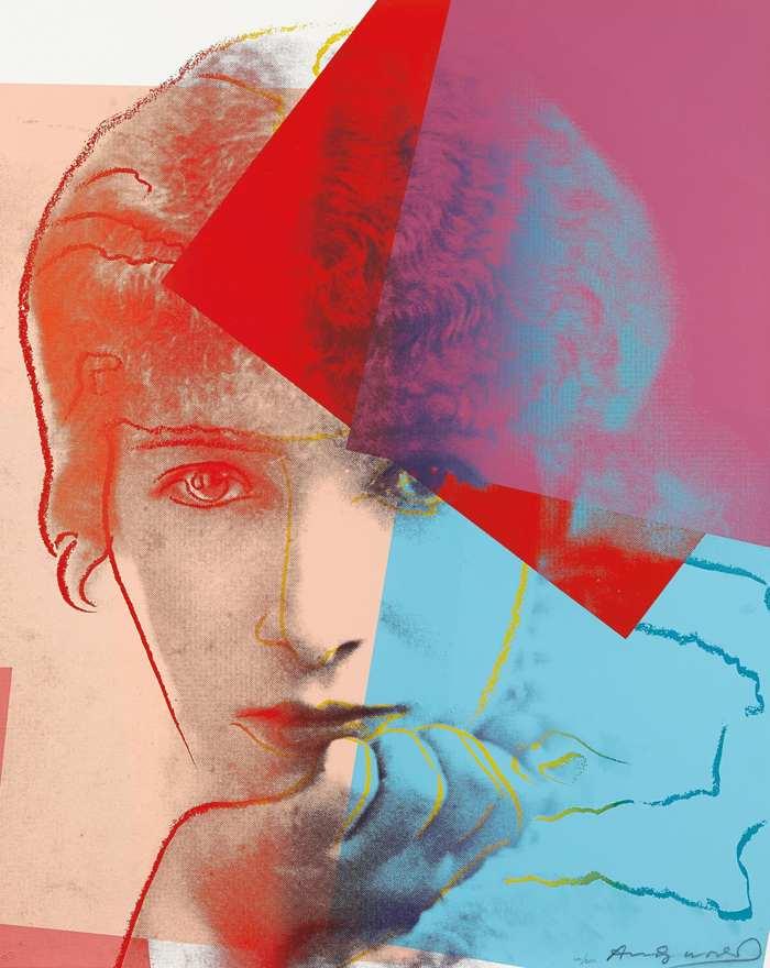Andy Warhol-Sarah Bernhardt, from Ten Portraits of Jews of the Twentieth Century-1980