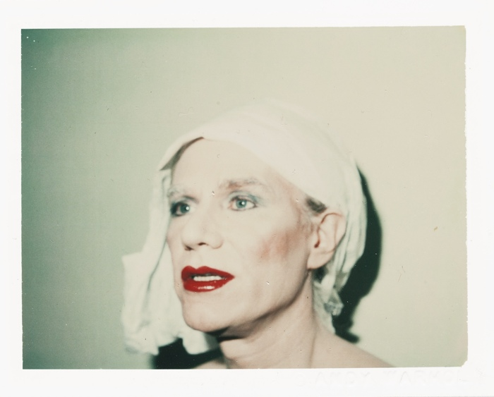 Andy Warhol-Self-Portrait In Drag-1981