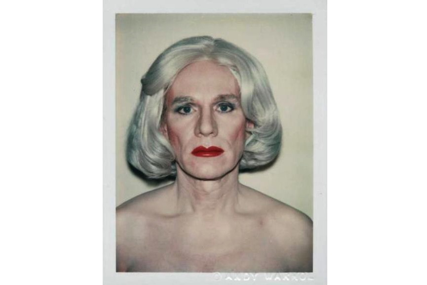 Self- Portrait in Drag, 1981