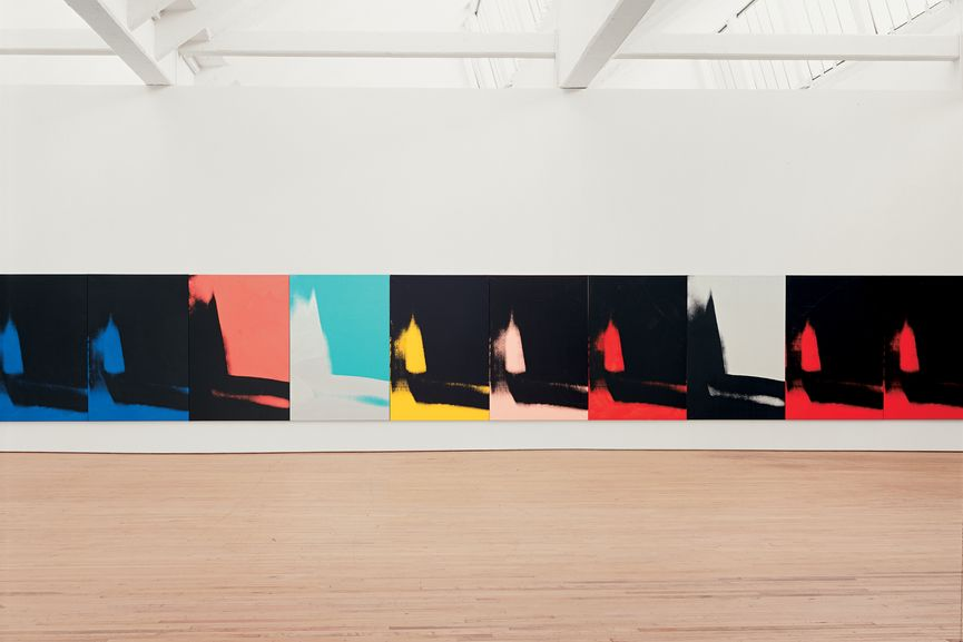 Andy Warhol, Shadows, 1978–79