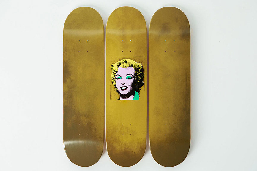 Andy Warhol Skateboard